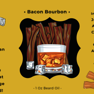 Beard Laws Beard Oil - Bacon Bourbon