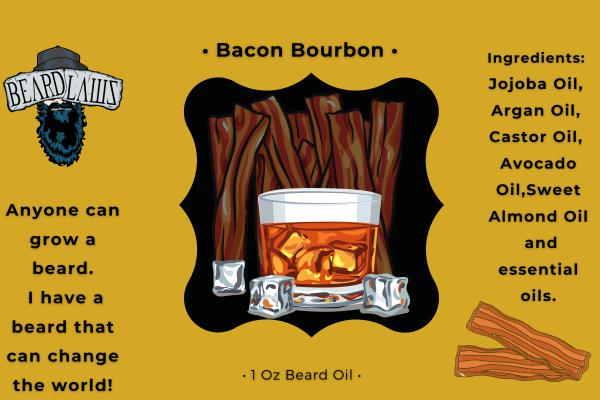 Beard Laws Beard Oil - Bacon Bourbon