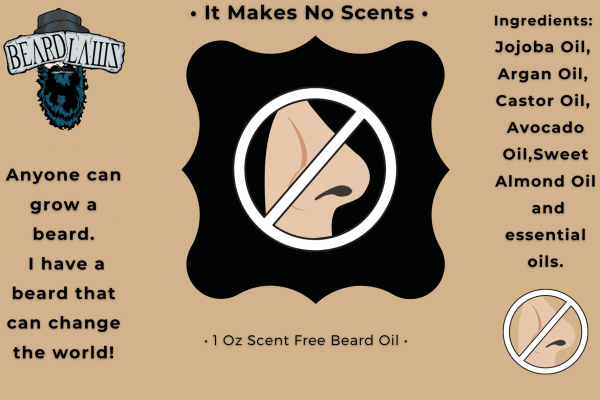 Beard Laws Beard Oil - It Makes No Scents (Scent Free)