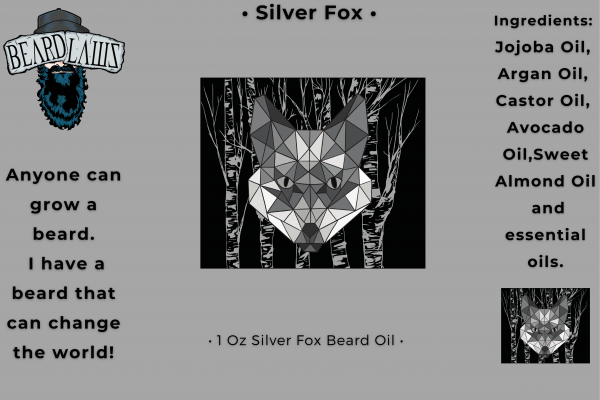 Beard Laws Beard Oil - Silver Fox