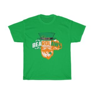 St Patrick's Day Heavy Cotton Tee