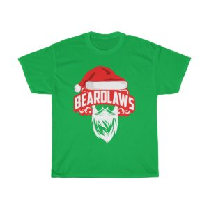 Beard Laws Christmas Cotton Tee