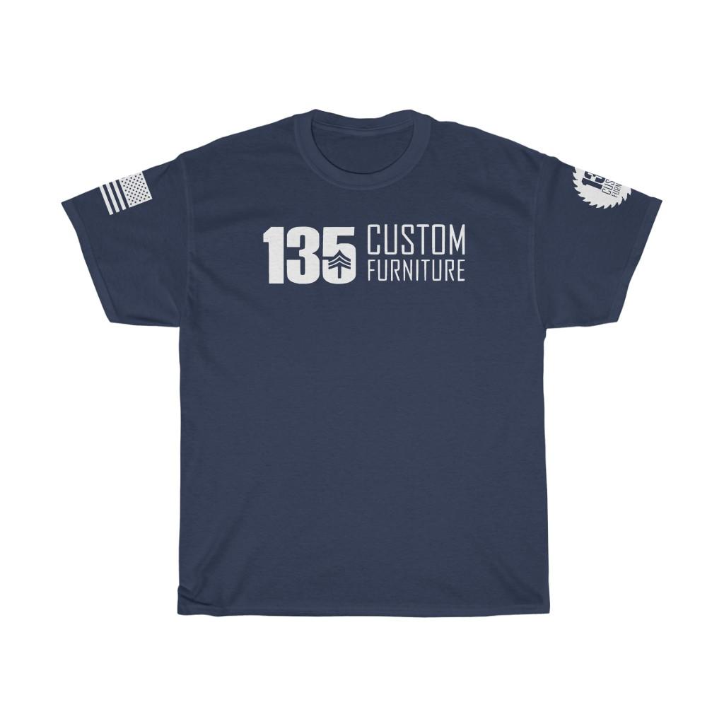 135 Custom Furniture Tee - Flag Edition