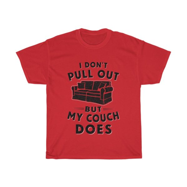 Couch Tee Black Logo