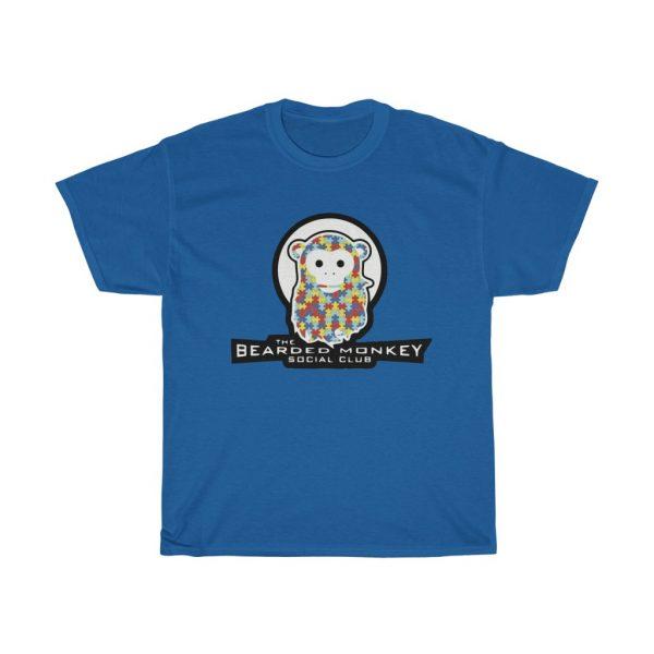 The Bearded Monkey Social Club Autism Tee