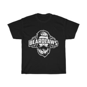 Beard Laws Unisex Heavy Cotton Tee (White Logo)