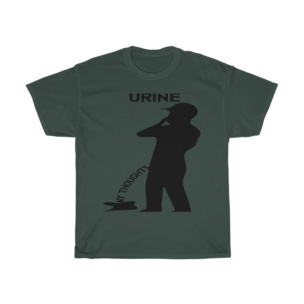 UrineMyThoughts Heavy Cotton Tee