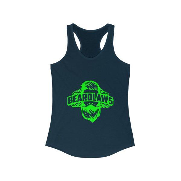 Beard Laws - Women's Ideal Racerback Tank - Lime Green
