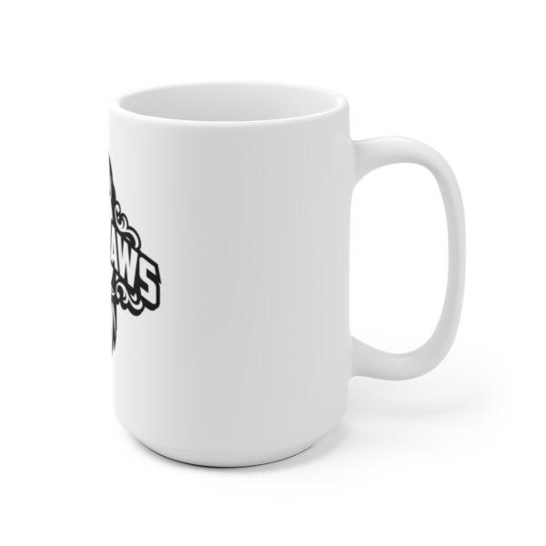 Beard Laws White Ceramic Mug