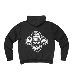 Beard Laws Fleece Full-Zip Hoodie