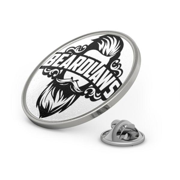 Beard Laws Metal Pin