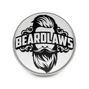 Beard Laws Metal Pin