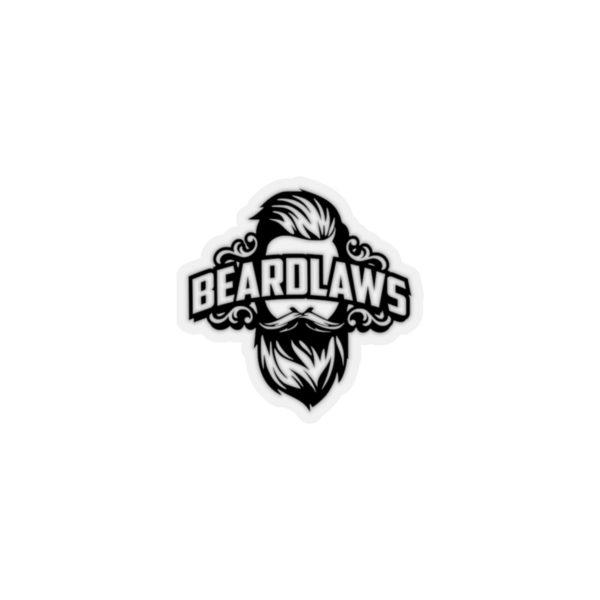 Official Beard Laws Kiss-Cut Stickers