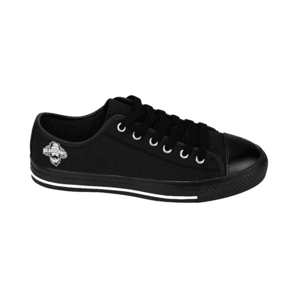 Beard Laws Men's Low Top Sneakers - Black