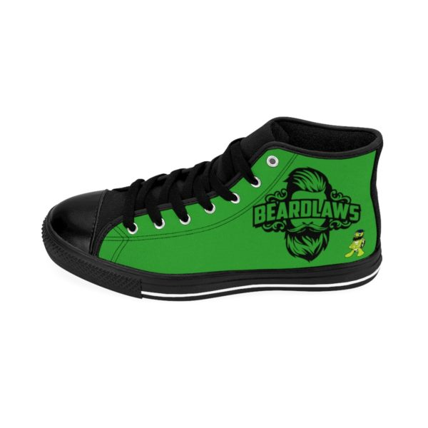 "Beard Laws - ""The Bearded Turtles"" - Men's High-top Sneakers"