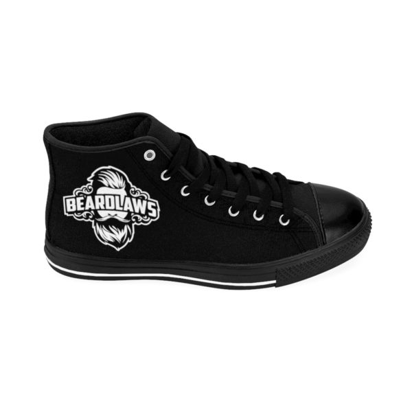 Beard Laws Women's High-top Sneakers - Black