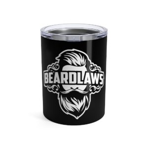 Beard Laws - Tumbler 10oz - Black