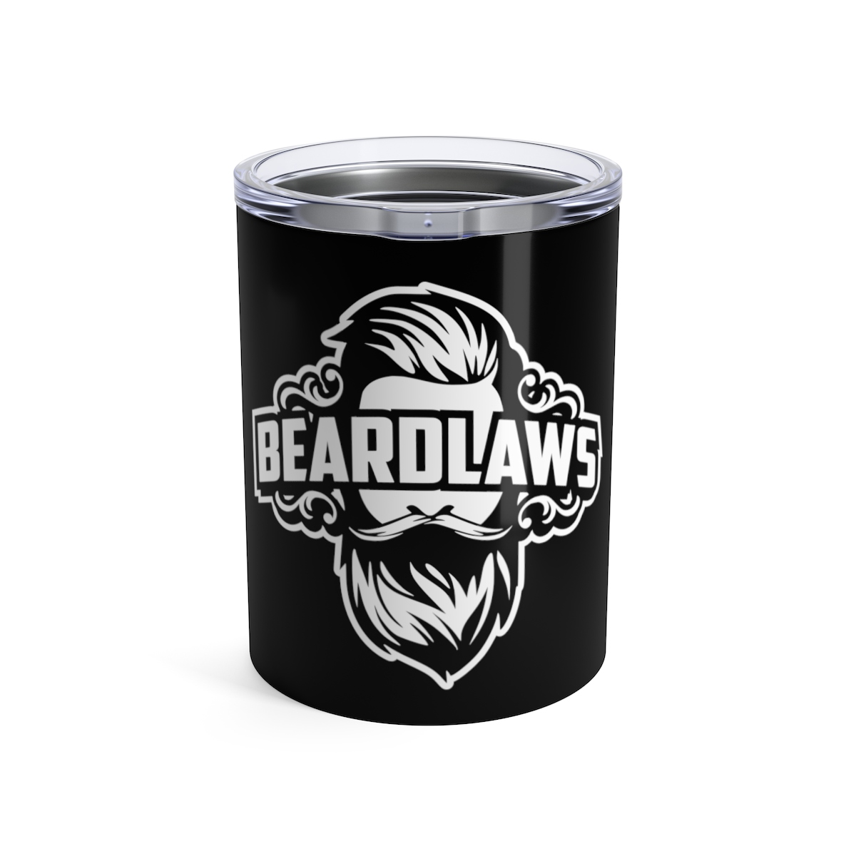 Beard Laws - Tumbler 10oz - Black