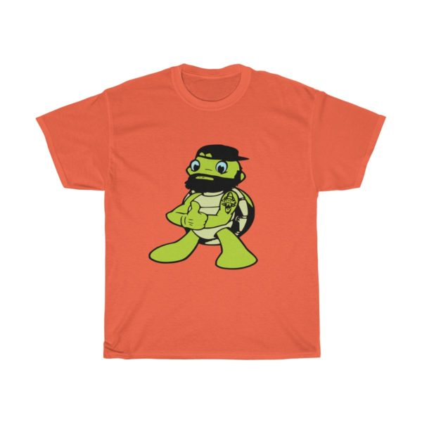"""**Limited Edition** """"The Bearded Turtle"""" Unisex Heavy Cotton Tee"""