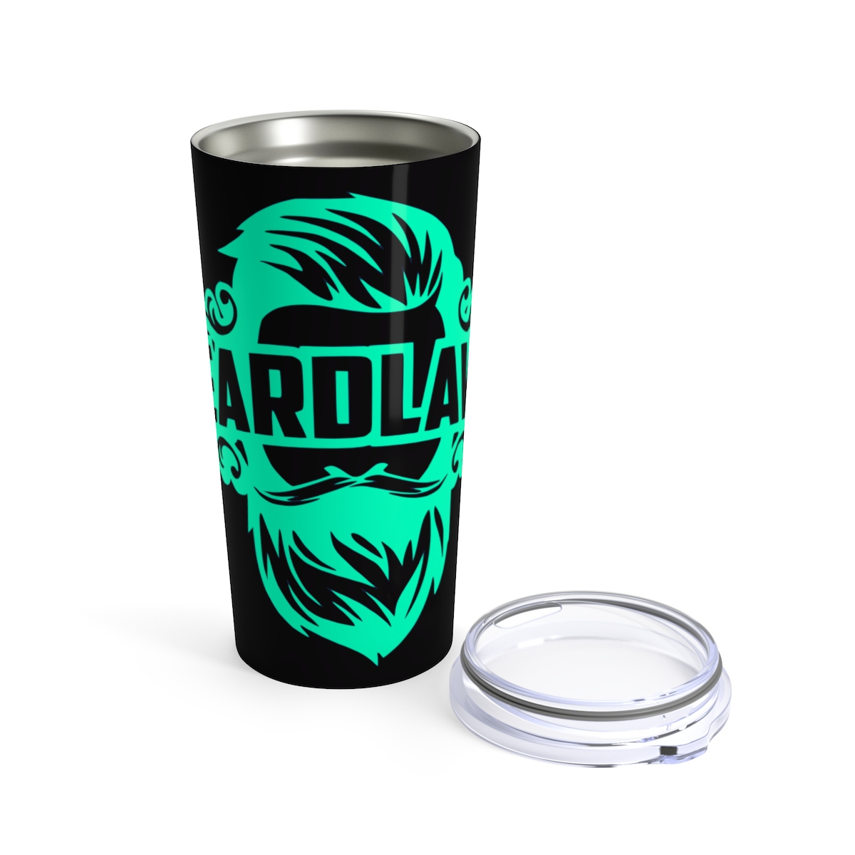 Beard Laws - Black/Spring Green Tumbler 20oz