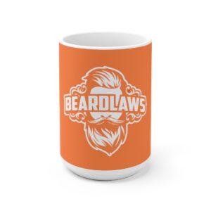 Beard Laws - Orange Ceramic Mug