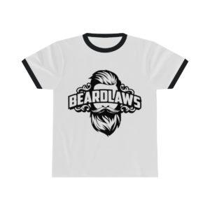 Beard Laws Ringer Tee - Black Logo