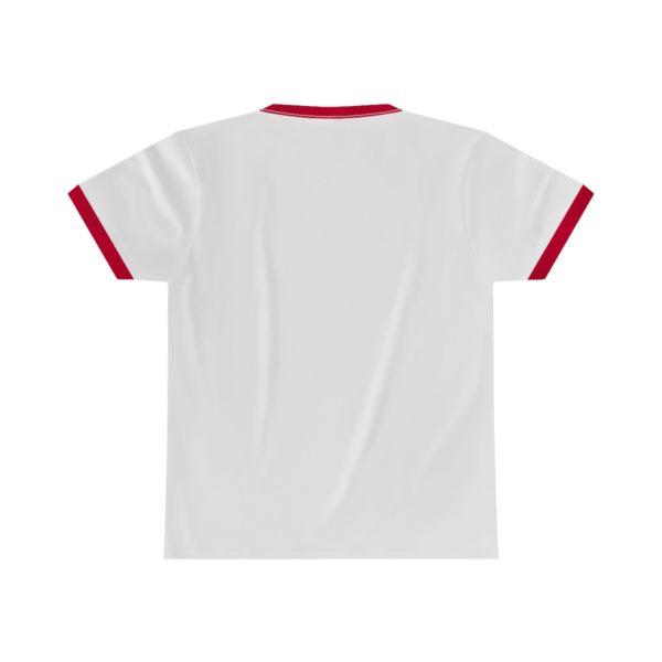 Beard Laws Ringer Tee - Red Logo