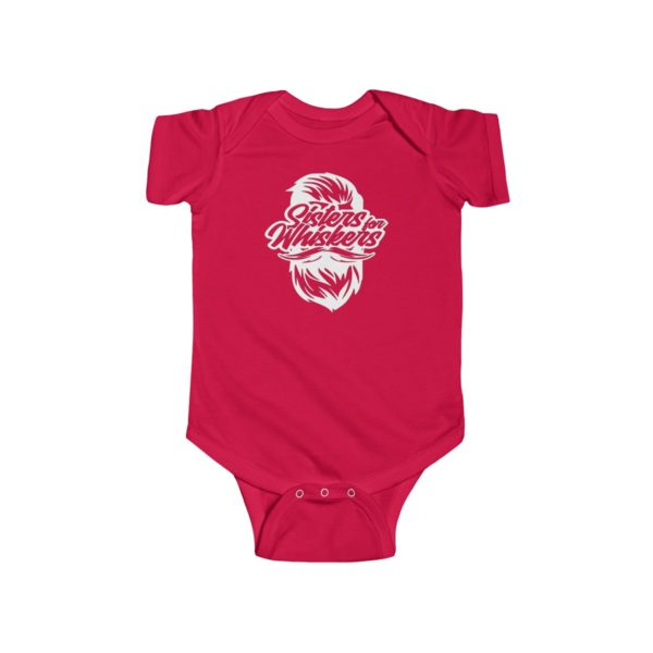 Sisters For Whiskers Infant Fine Jersey Bodysuit