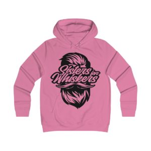 Sisters For Whiskers Girlie College Hoodie
