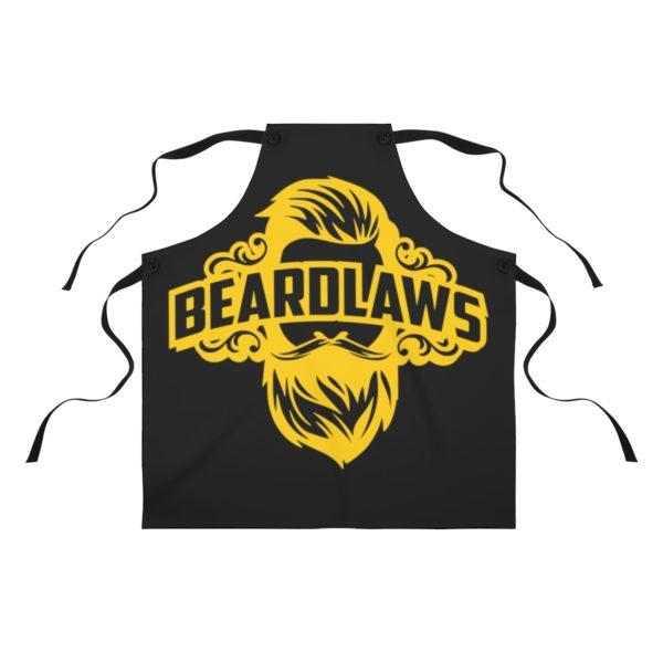 Beard Laws Apron - Yellow Logo