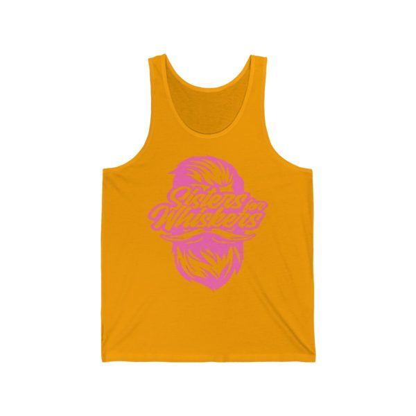 Sisters For Whiskers Unisex Jersey Tank - Pink Logo