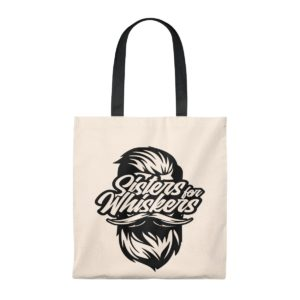 Sister For Whiskers Tote Bag - Vintage