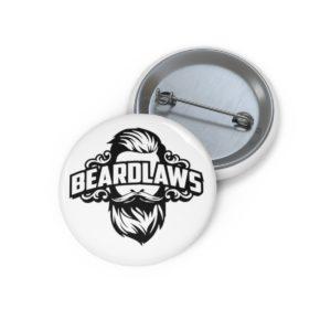 Beard Laws - Pin Buttons