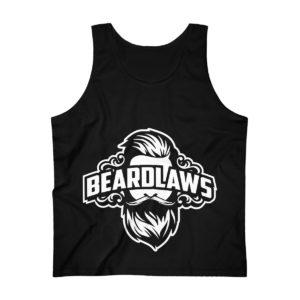 Beard Laws - Men's Ultra Cotton Tank Top - Black