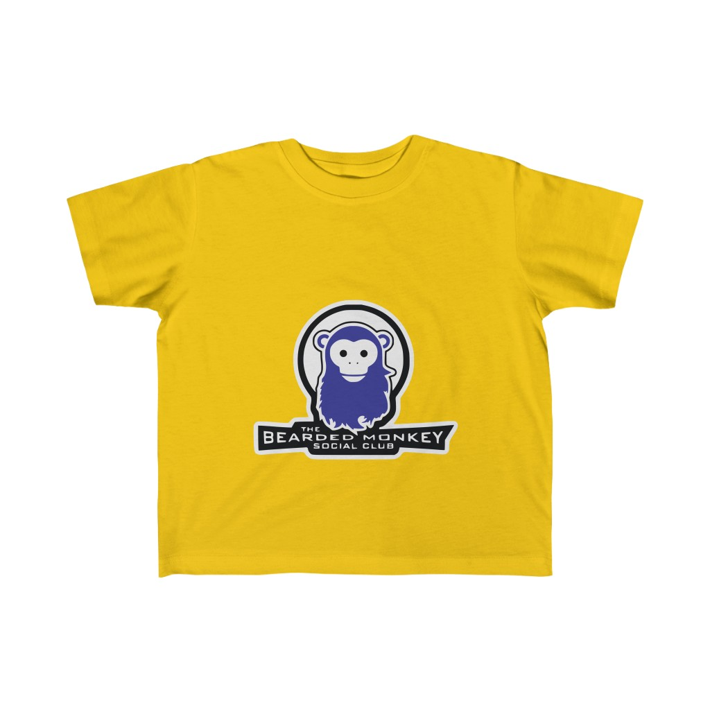 The Bearded Monkey Social Club Kids Tee