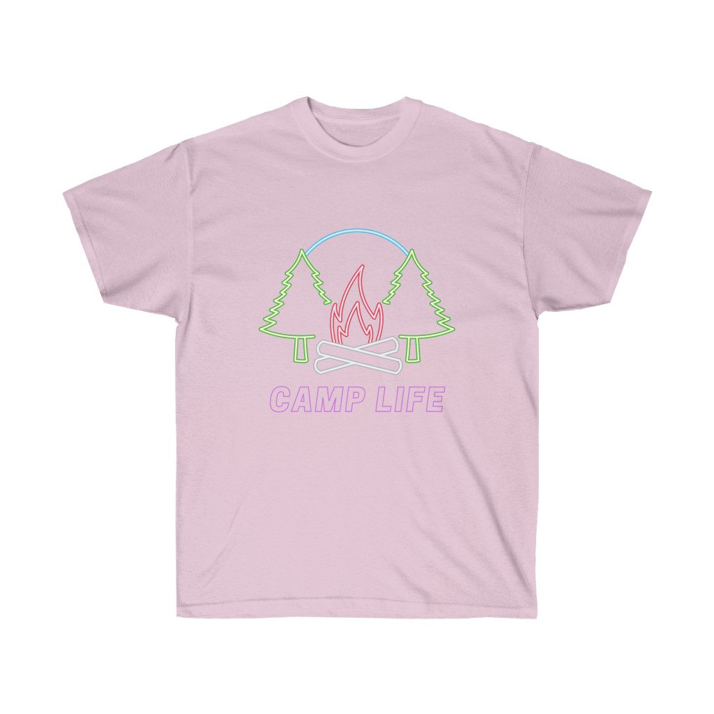 Happy Camper Neon Tee