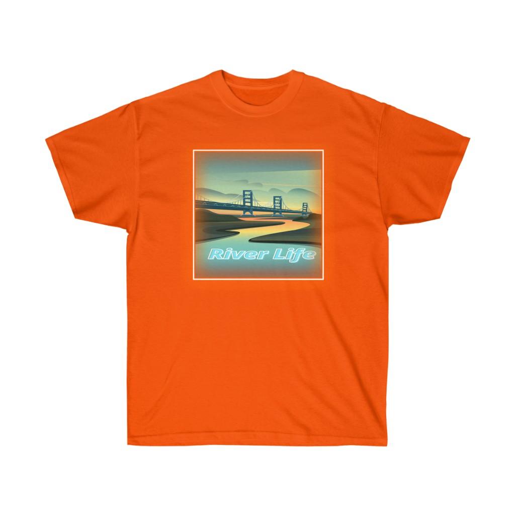 River Life Tee (Orange)