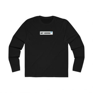 BBJ Not Verified Long Sleeve Tee IV