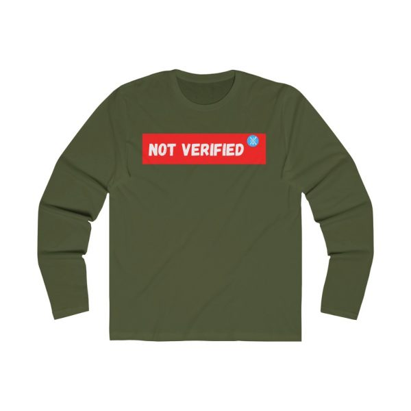 BBJ Not Verified Long Sleeve Tee II