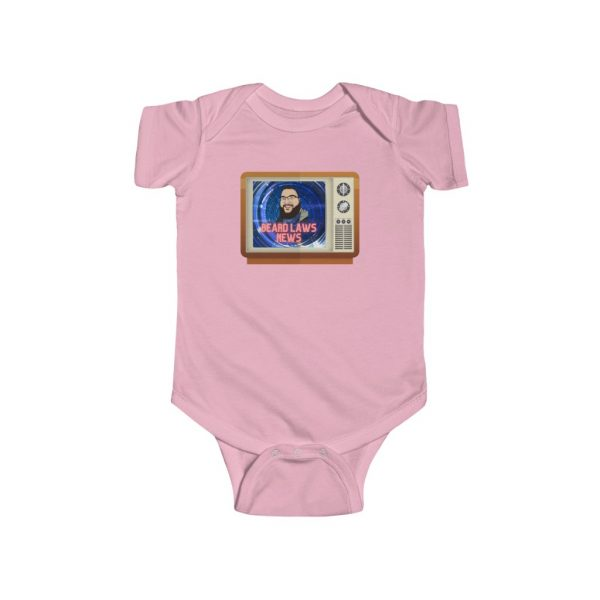Beard Laws News Infant Fine Jersey Bodysuit