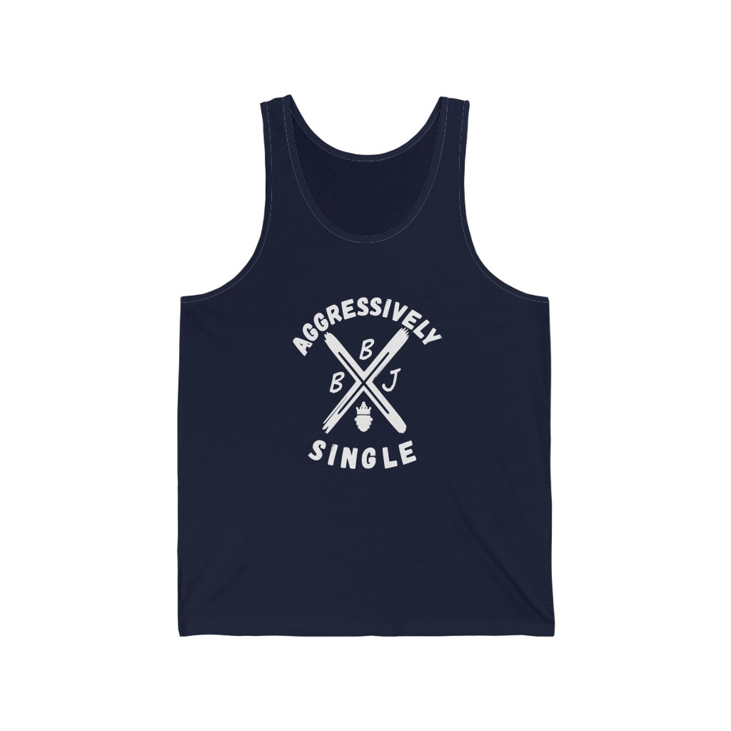 BBJ Aggressively Single Men's Tank