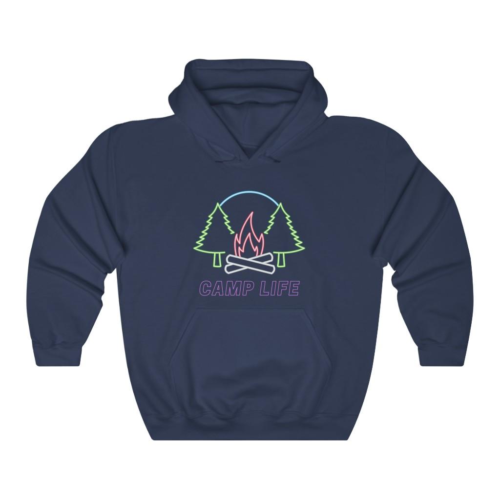Camp Life Hoodie (Purple Font)