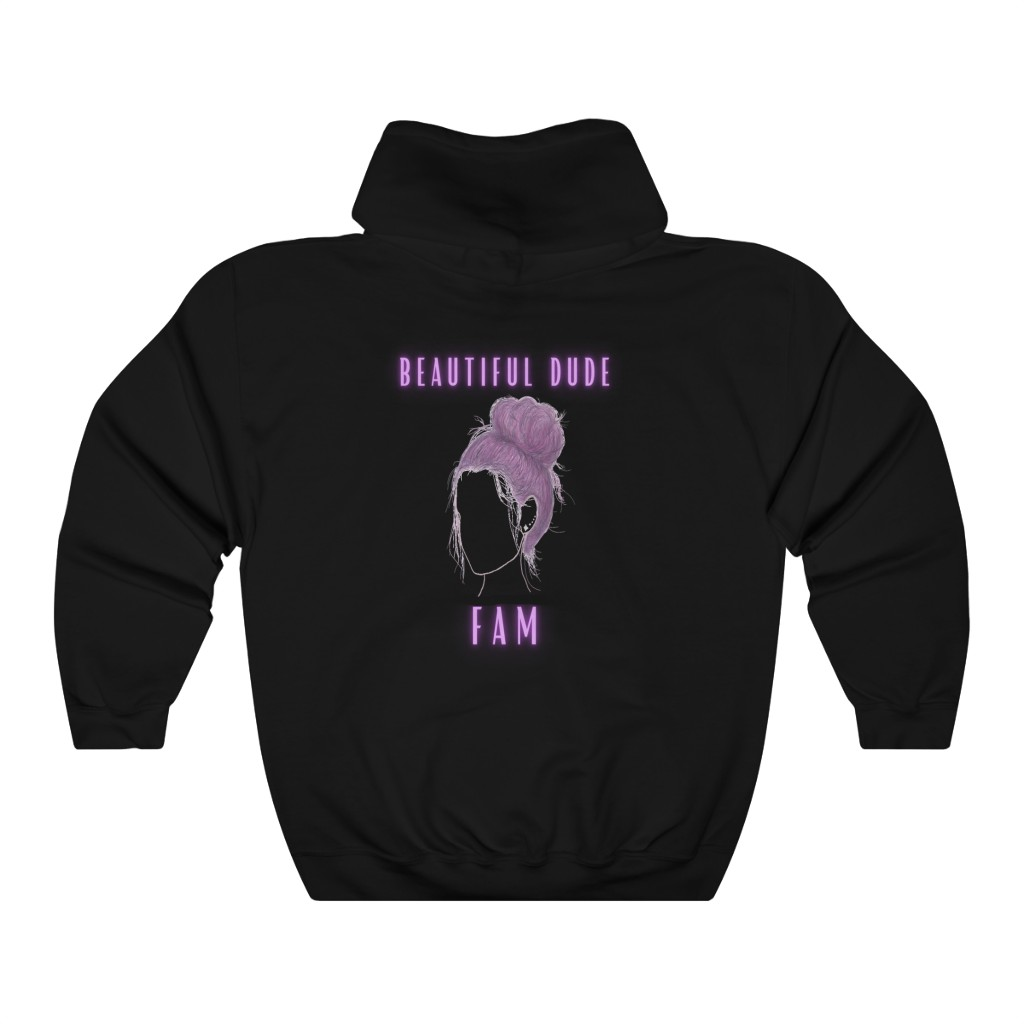 Beautiful Dude Fam Hoodie (Two Sided)