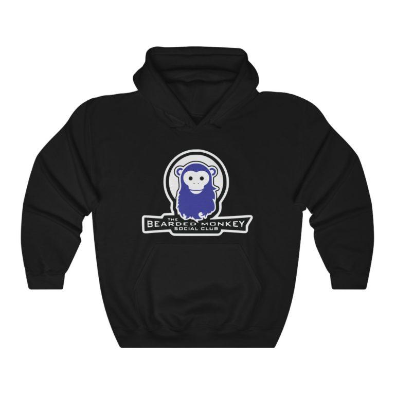 Bearded Monkey Social Club Hooded Sweatshirt