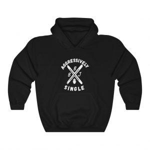 BBJ Aggressively Single Hoodie