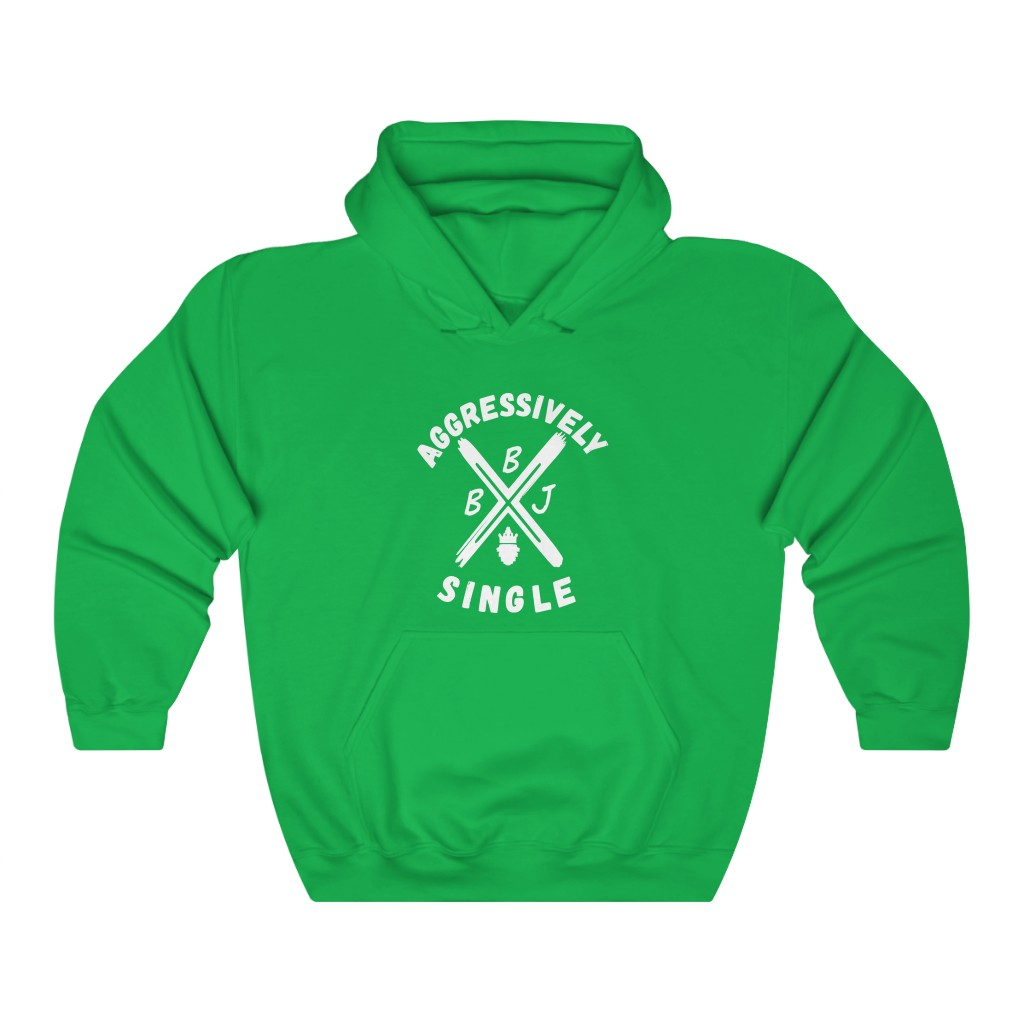 BBJ Aggressively Single Hoodie