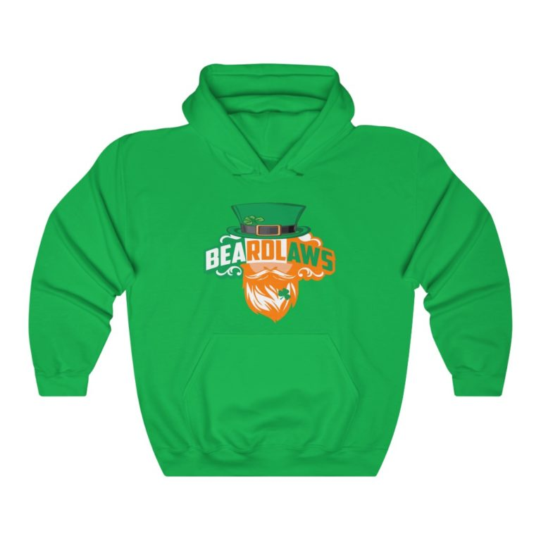 Beard Laws St Patrick's Hooded Sweatshirt