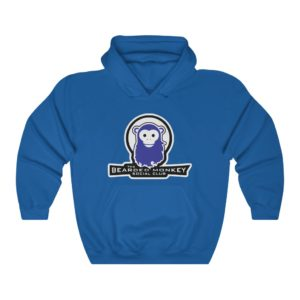 Bearded Monkey Social Club Hooded Sweatshirt