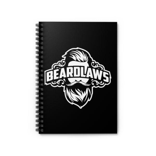 Beard Laws Spiral Notebook - Ruled Line