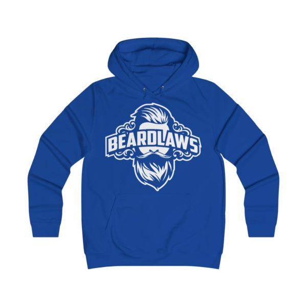 Beard Laws Girlie College Hoodie
